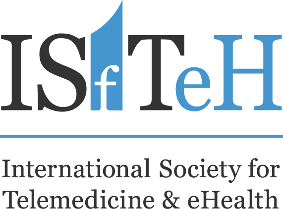 Logomarca International Society for Telemedicine & eHealth